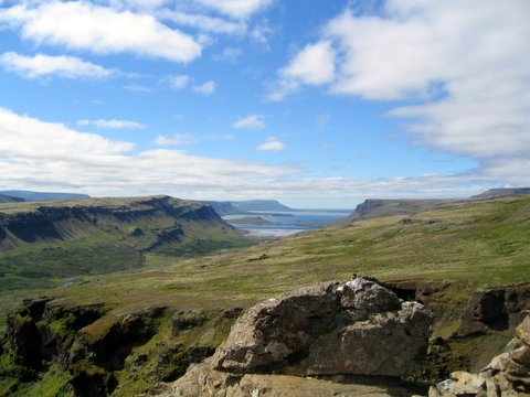 The view from Glymur!