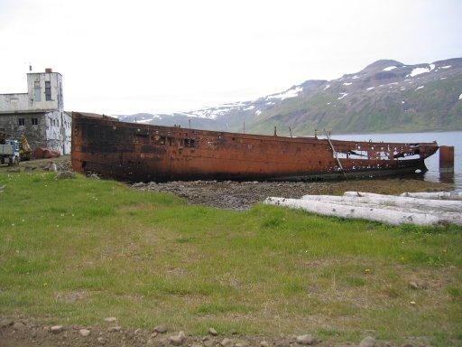 Djúpavík used to be a fishery town.