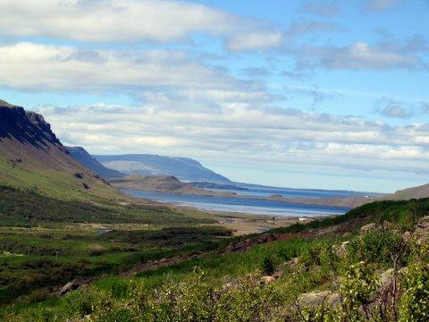 Panorama of Hvalfjörður.
